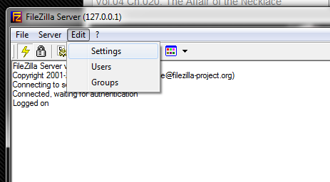 How to create your home ftp server using filezilla | My Personal Project Database